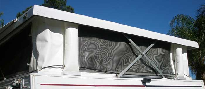 RV Roof Air Lifter System