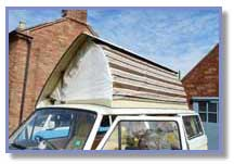 Motorhome Roof Air Lifter Installations